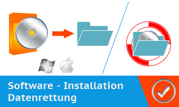 Software - Installation und Datenrettung