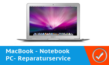 Notebook und MacBook Reparaturen und Display tausch